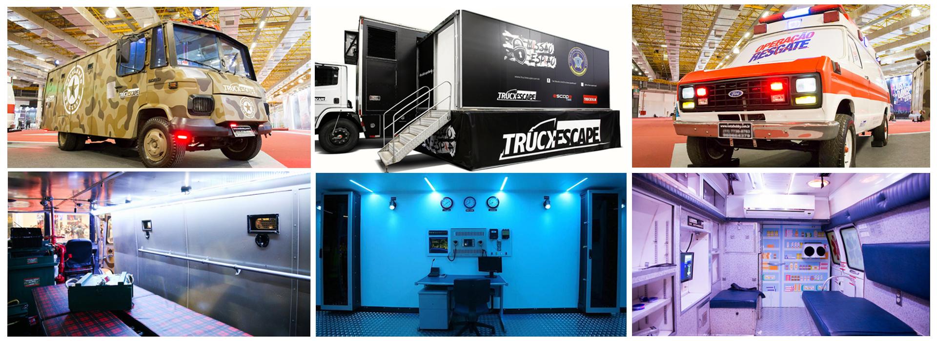 Primeiro TruckEscape do Brasil